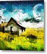 Lanscape With A House Tnm Metal Print