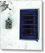Lantern And Window Metal Print
