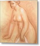 Large Bather Metal Print