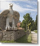 Large Bird Statuary Metal Print