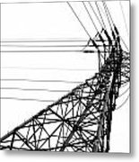Large Powermast Metal Print