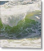 Large Waves On The Coast Of Maine Metal Print