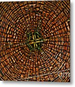 Largest Round Barn Ceiling Metal Print