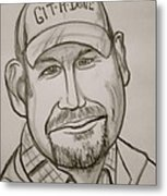 Larry The Cable Guy Metal Print