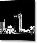 Las Vegas Nights Metal Print