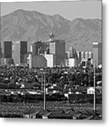 Las Vegas Suburbs Metal Print