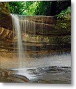 Lasalle Canyon Waterfall Metal Print