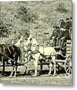 Last Deadwood Coach 1890 Metal Print