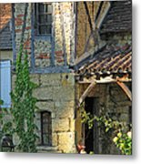 Last Light In Sarlat Metal Print
