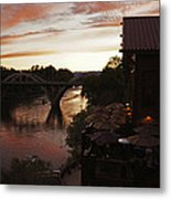 Last Light Over The Rogue Metal Print