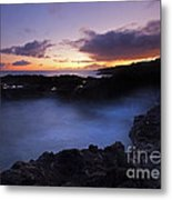Last Light Over The South Shore Metal Print
