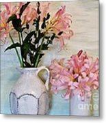 Last Of My Lilies Metal Print
