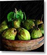 Last Of The Pears Metal Print