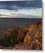 Last Rays At Grand Canyon Metal Print