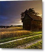Last Sigh Metal Print by Debra and Dave Vanderlaan