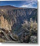Late Afternoon At Black Canyon Of The Gunnison Metal Print