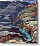 Late Afternoon In The Canyon Metal Print