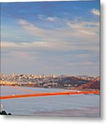 Late Evening Over San Francisco Metal Print