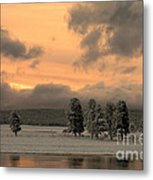 Late Spring Storm In Yellowstone Metal Print