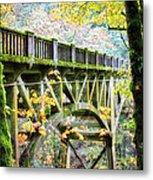 Latourel Creek Bridge Metal Print