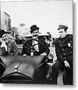 Laurel And Hardy, 1928 Metal Print