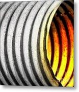 Lava Tube Metal Print