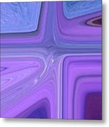 Lavender Bend Metal Print