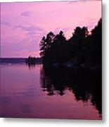 Lavender Lake Metal Print
