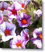 Lavender Million Bells Flowers Metal Print
