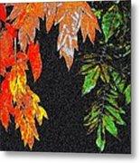 Lavish Leaves 5 Metal Print