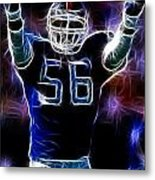 Lawrence Taylor  Metal Print by Paul Ward