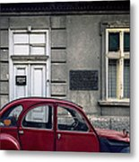 Lawyer. Belgrade. Serbia Metal Print