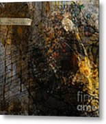 Layered Realities Abstract Composition Painting Print Metal Print