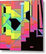 Layers Of Consciousness Metal Print