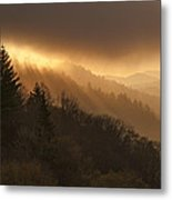 Layers Of Light Metal Print