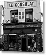 Le Consulat Metal Print