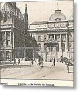Le Palais De Justice Metal Print