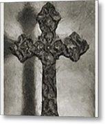 Lead Me To The Cross 4 Metal Print