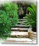 Lead Me To Your Garden Metal Print
