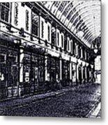 Leadenhall Market Metal Print