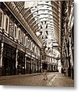 Leadenhall Market London With  Metal Print