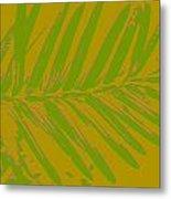 Leafy Art I Metal Print