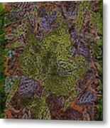 Leafy Goodness Metal Print