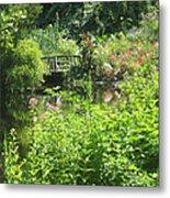 Leaming Run Gardens Pond Metal Print