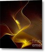 Leaning Into Each Other Metal Print