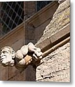 Leaning Over Metal Print