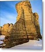 Learn Tower Of Monument Rocks Metal Print