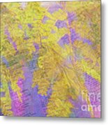 Leaves . . . Trees And Books Metal Print
