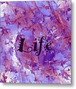 Leaves Of Life Metal Print