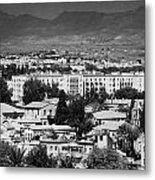 Ledra Palace Hotel Border Crossing Point In Nicosia Lefkosia Republic Of Cyprus Metal Print